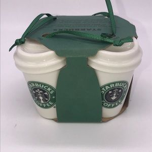 Starbucks | set of 4 ornaments